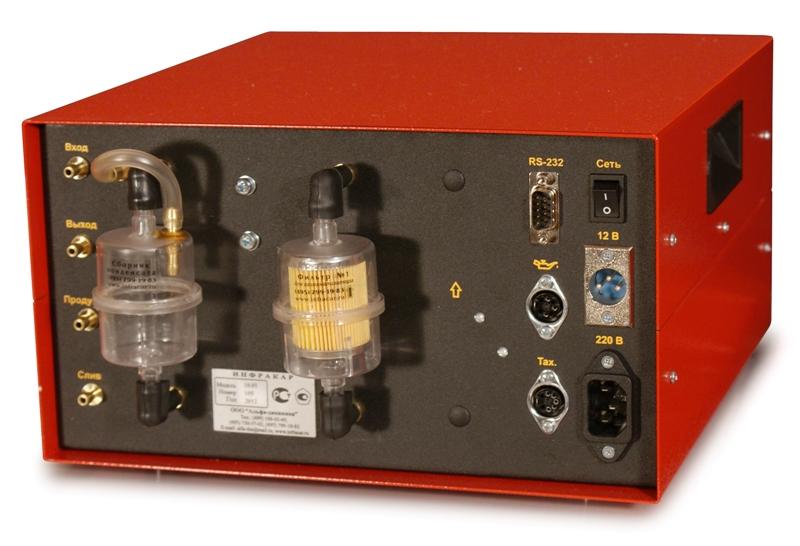 Автомобильный 2-х компонентный газоанализатор «Инфракар 10.01»